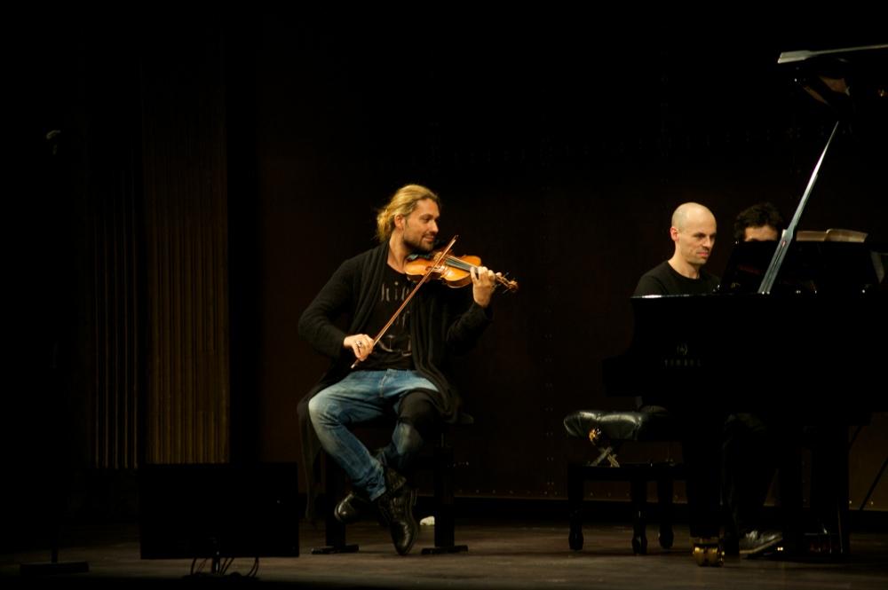 Répétition concert David Garrett Paris