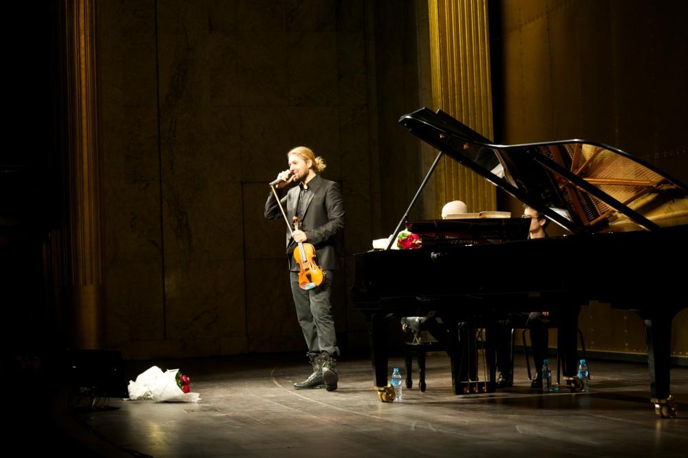 David Garrett en concert - France