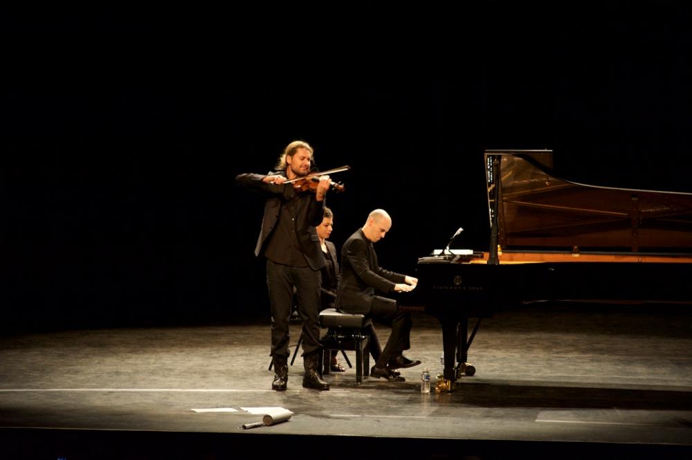 David Garrett joue Brahms
