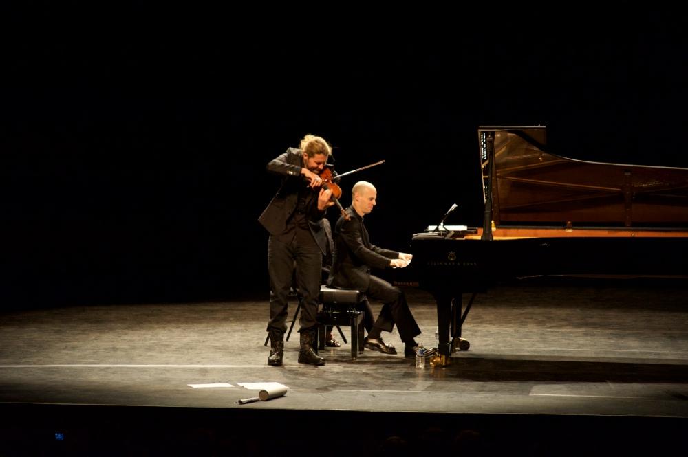 David Garrett et Julien Quentin à Lyon