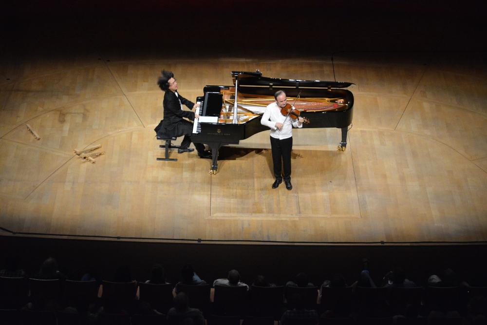 Igudesman Joo concert Pleyel
