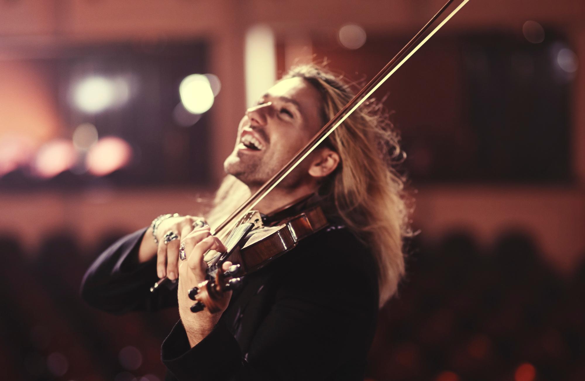 David Garrett en récital à Strasbourg le 12 mai 2016