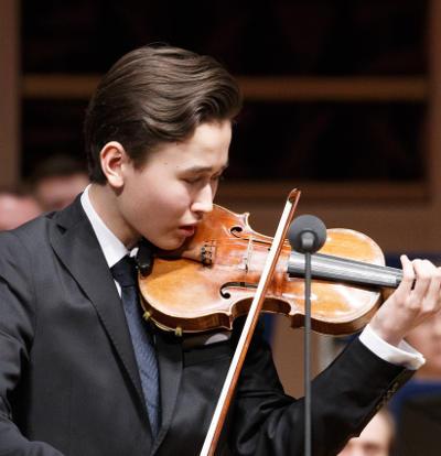 Le jeune prodige Daniel Lozakovich en récital en 2018
